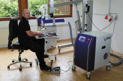 Lasermaschine, LWI IV Flexx, Laserschweissanlage Neuhausen